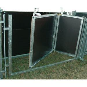 Porte accordeon 1.5 m x 0.9 m