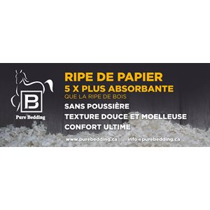 Ripe de papier PURE BEDDING