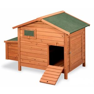 Chicken Coop BERLIN, Wood. 1.9 m x 0.88 m x 1.10 m