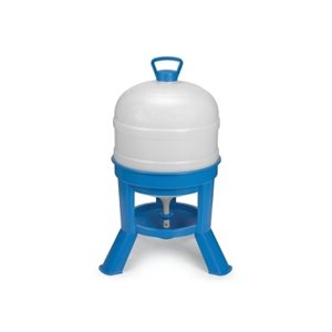 Siphon drinker for chickens, 30 l, Blue