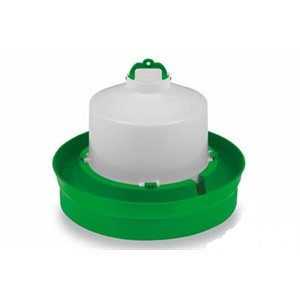 Drinker for chickens, Deep base, Green & White