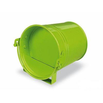 Abreuvoir seau peint mini, vert lime 250 ml *