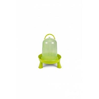 Eco chicken drinker with legs, 3 l. Green Lemon
