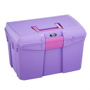 Grooming case, Purple with Pink handle (new)