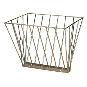 Double metal hay feeder 61,5 x 50 x 48 cm