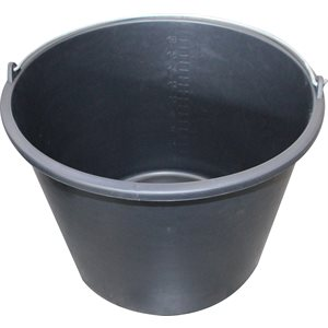 Hardly 20 l. bucket, Black