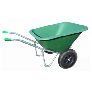 Tilting Wheel Barrow 200 l. 39 X 29 X 31''