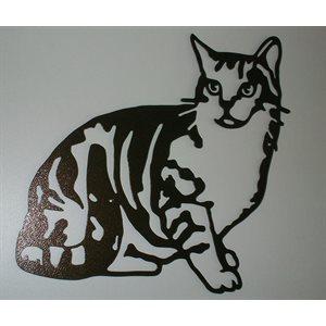 Décoration murale chat gros