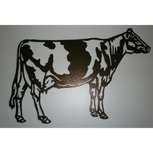 Complete holstein wall decoration