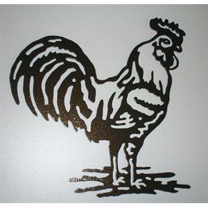 Décoration murale coq
