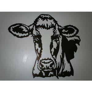 Holstein head wall decoration