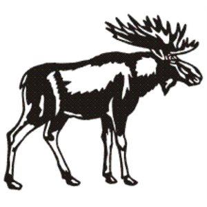 Moose wall decoration
