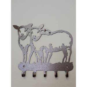 Support mural décoratif mouton