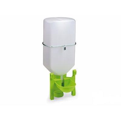 Poultry drinker with bottle, 3 l, Green Lemon