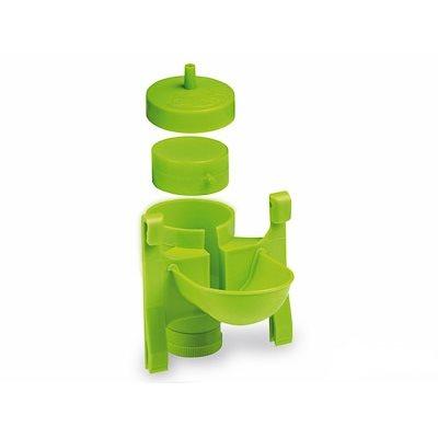 Metal & plastic automatic drinker only, Green Lemon