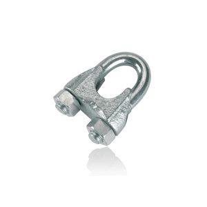 Galvanized wire connector 3mm pkg / 10