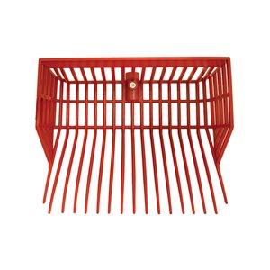 Manure fork basket Red handle 48 ''