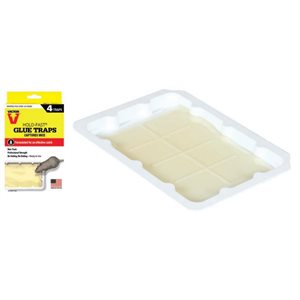 Mouse glue tray pkg / 4
